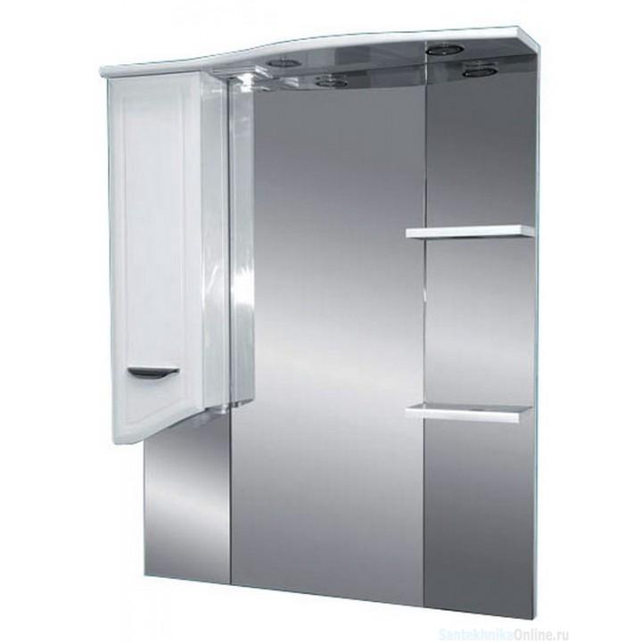 Зеркало-шкаф Misty Дрея - 85 Зеркало - шкаф лев. (свет) Э-Дре02085-01СвЛ