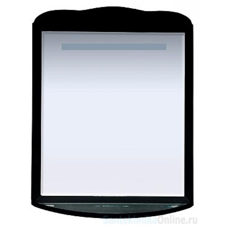 Зеркала Misty Дайна - 85 зеркало свет чёрное П-Дай02085-021Св