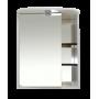 Зеркало-шкаф Misty Венера - 60 Зеркало-шкаф лев. со светом комбинированное П-Внр04060-25СвЛ