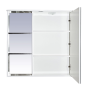 Зеркало-шкаф Misty Венера - 80 Зеркало-шкаф прав. со светом комбинированное П-Внр04080-25СвП