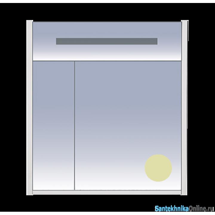 Зеркало-шкаф Misty Джулия 75 бежевый Л-Джу04075-0310