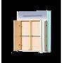 Зеркало-шкаф Misty Джулия 65 голубой Л-Джу04065-0610