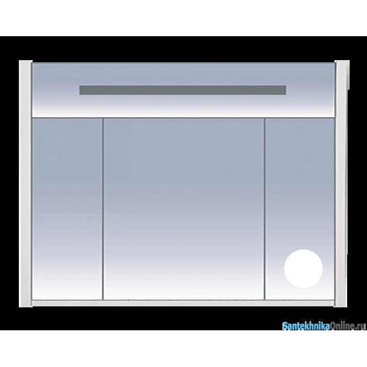 Зеркало-шкаф Misty Джулия 105 белый Л-Джу04105-0110
