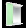 Зеркало-шкаф Misty Астра 60 L салатовый Э-Аст04060-07СвЛ