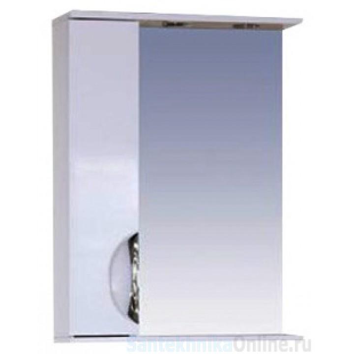 Зеркало-шкаф Misty Жасмин 55 L белый П-Жас02055-011СвЛ