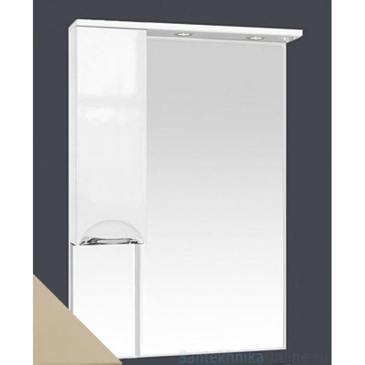 Зеркало-шкаф Misty Жасмин 65 L бежевый П-Жас02065-031СвЛ
