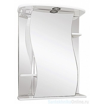 Зеркало-шкаф Misty Лиана - 60 Зеркало - шкаф прав. (свет) Э-Лиа02060-01СвП