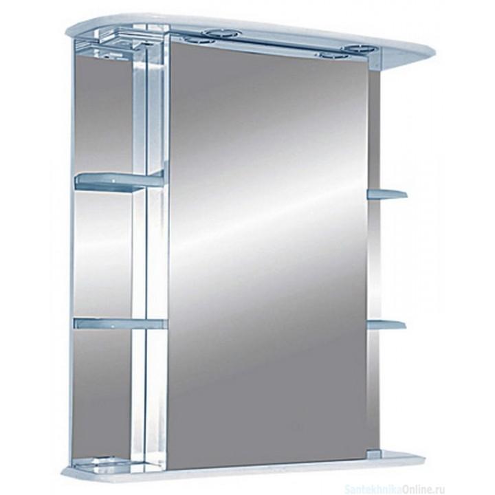 Зеркало-шкаф Misty Магнолия 65 L со светом Э-Маг04065-01СвЛ