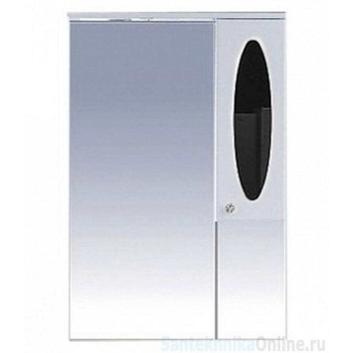 Зеркало-шкаф Misty Сидней 65 R черный П-Сид02065-235СвП