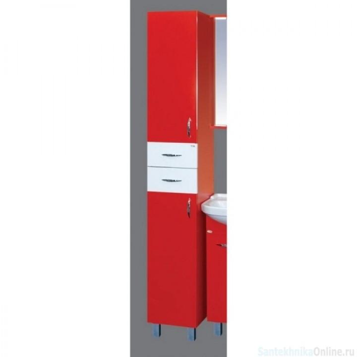 Шкаф-пенал Misty Стиль 30 L красный Э-Сти05030-04СвП