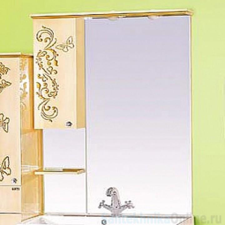 Зеркало-шкаф Misty Бабочка 90 L Л-Баб04090-033СвЛ
