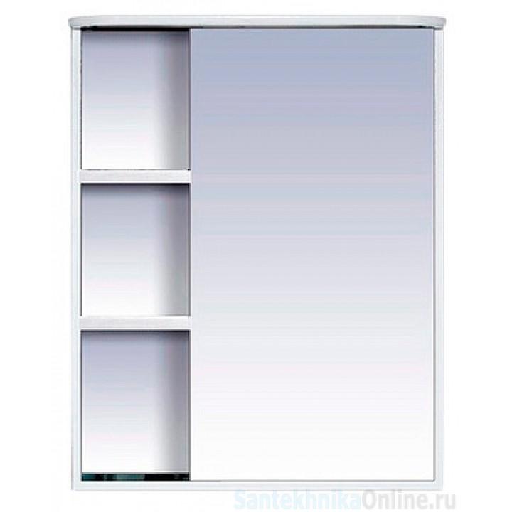 Зеркало-шкаф Misty Венера - 60 Зеркало-шкаф прав. со светом белое П-Внр04060-01СвП