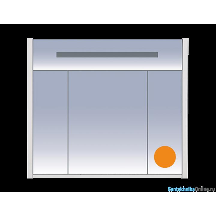 Зеркало-шкаф Misty Джулия 90 оранжевый Л-Джу04090-1310