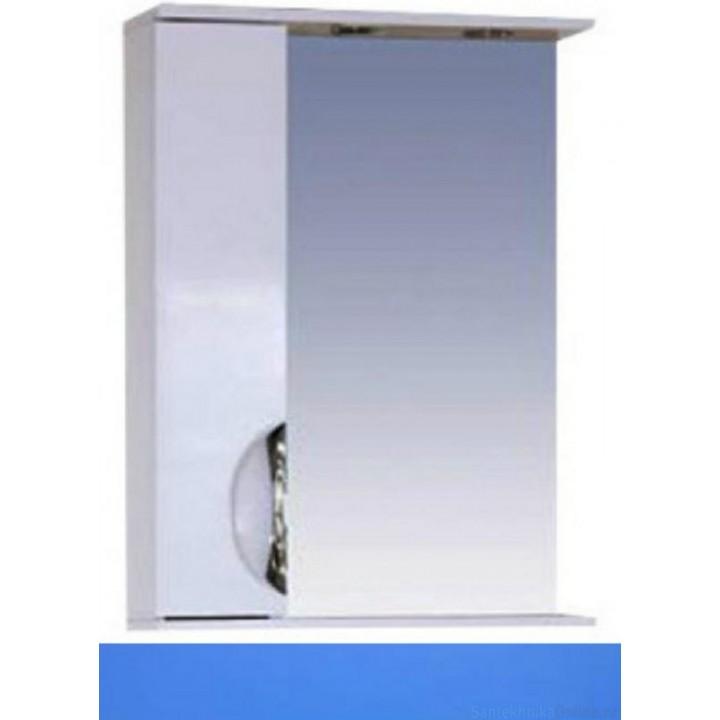 Зеркало-шкаф Misty Жасмин 55 L голубой П-Жас02055-061СвЛ