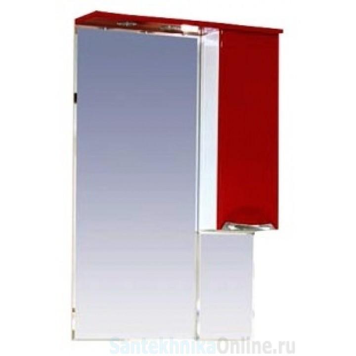 Зеркало-шкаф Misty Жасмин 65 R красный П-Жас02065-041СвП