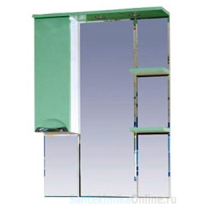 Зеркало-шкаф Misty Жасмин 75 L салатовый П-Жас02075-071СвЛ
