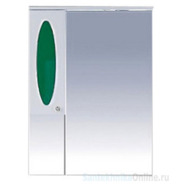 Зеркало-шкаф Misty Сидней 75 L зеленый П-Сид02075-285СвЛ