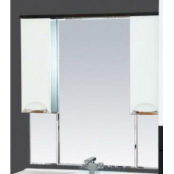 Зеркало-шкаф Misty Франко -105 зеркало-шкаф Венге/белый (свет) П-Фра04105-252Св