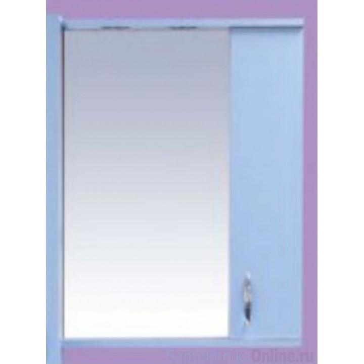 Зеркало-шкаф Misty Стиль 50 R голубой Э-Сти02050-06СвП