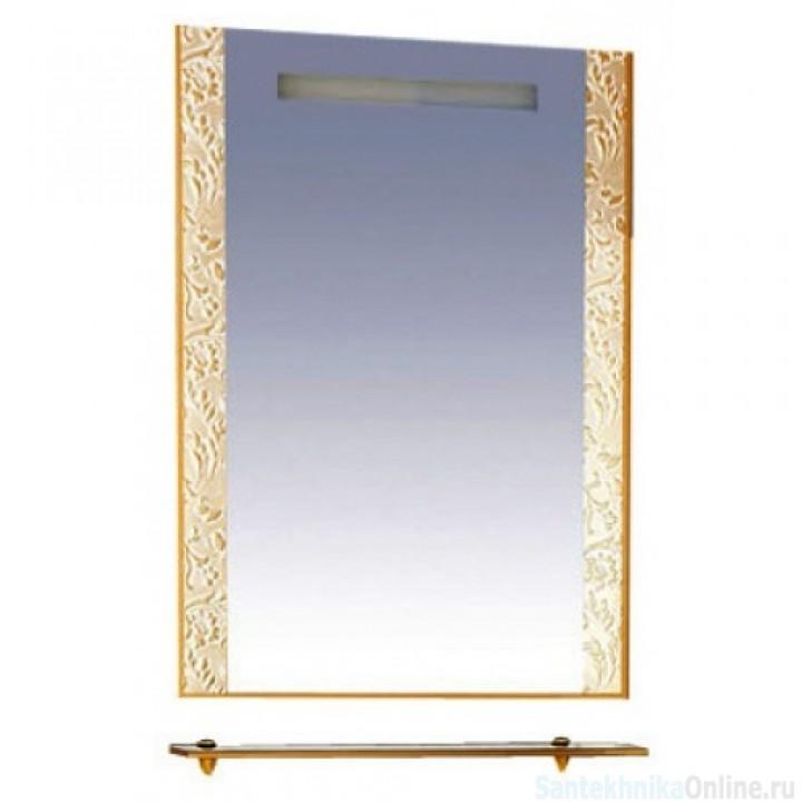 Зеркала Misty Гранд Lux 60 золотое Флораль Л-Грл02060-169Фл