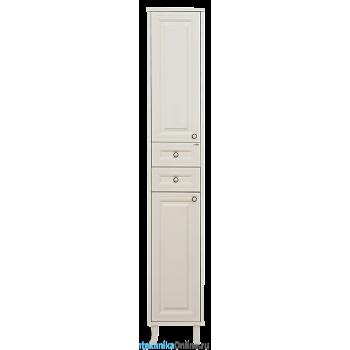 Шкаф-пенал Misty Шармель 35 L с 2-мя ящиками светло-бежевый Л-Шрм05035-5812ЯЛ