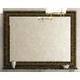 Зеркала Misty Fresko 120 краколет черный патина Л-Фре03120-0217