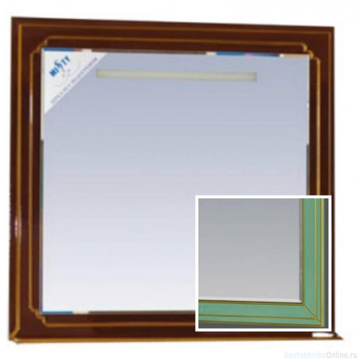 Зеркала Misty Praga 90 салатовое Л-Пра02090-073