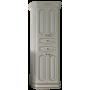 Шкаф-пенал Misty Астория Gold 60 белый глянец Л-Асг05060-3918