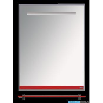 Зеркала Misty Джулия - 60 Зеркало с полочкой 12 мм красное Л-Джу03060-0410
