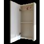 Зеркало-шкаф Misty Мини -40 Зеркало-шкаф бежевое П-Мин04040-031