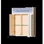 Зеркало-шкаф Misty Джулия 65 коричневый Л-Джу04065-1410