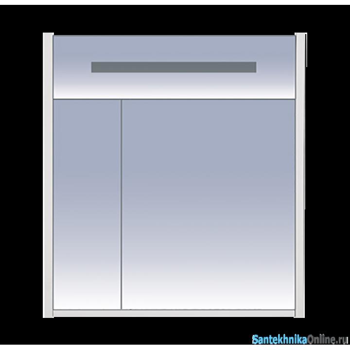Зеркало-шкаф Misty Джулия 75 сиреневый Л-Джу04075-1510