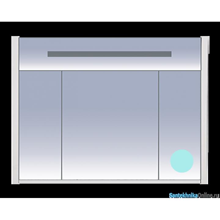 Зеркало-шкаф Misty Джулия 105 голубой Л-Джу04105-0610