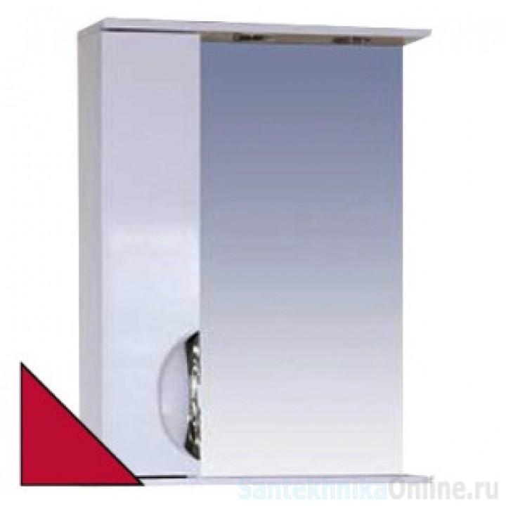 Зеркало-шкаф Misty Жасмин 55 L красный П-Жас02055-042СвЛ