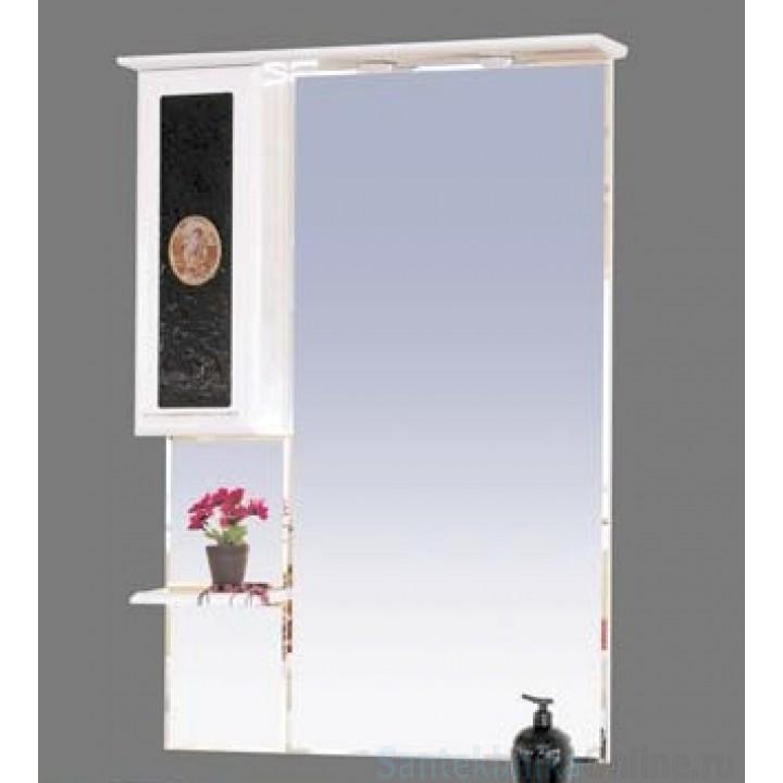 Зеркало-шкаф Misty Леонардо 75 L Л-Лео04075-235Л