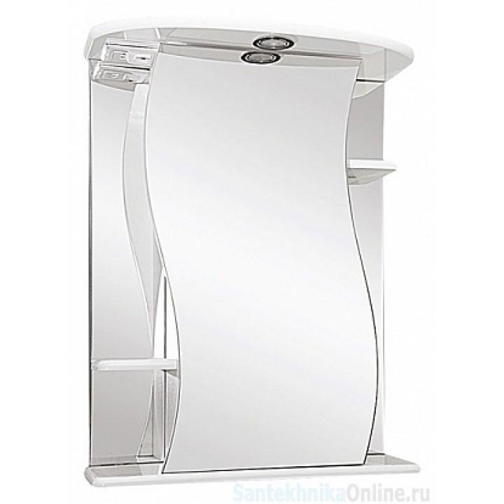Зеркало-шкаф Misty Лиана - 65 Зеркало - шкаф (свет) прав. Э-Лиа02065-01СвП
