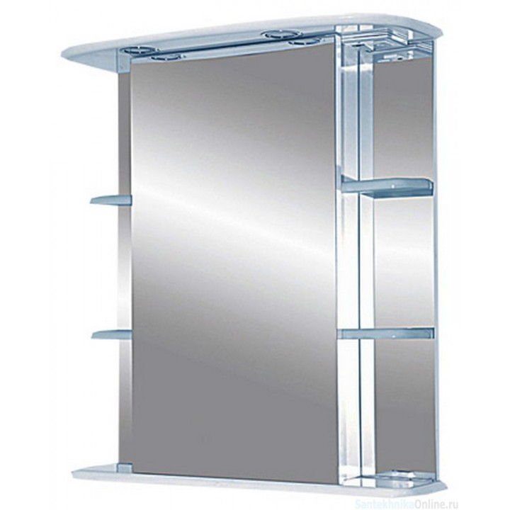 Зеркало-шкаф Misty Магнолия 65 R со светом Э-Маг04065-01СвП
