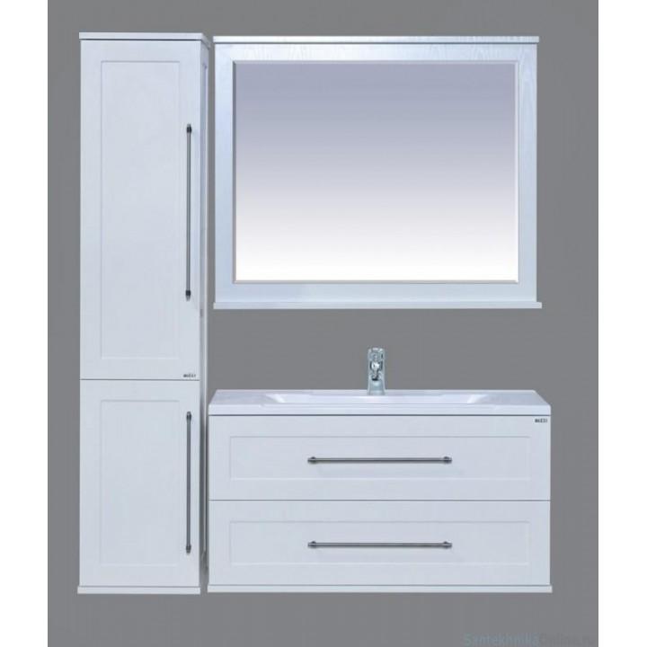 Зеркала Misty Марта 100 белое П-Мрт02100-012