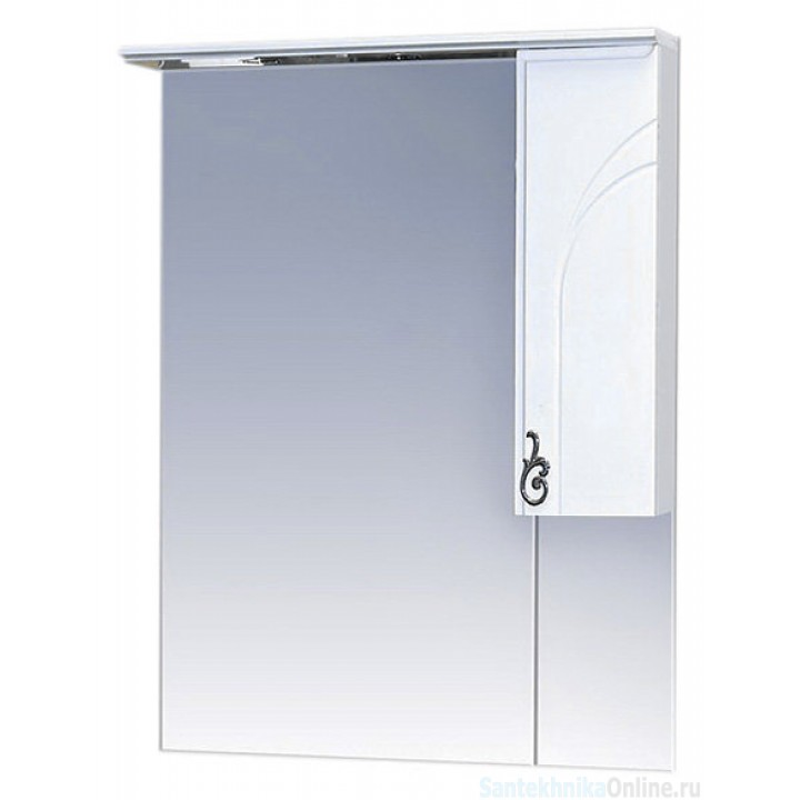 Зеркало-шкаф Misty Неаполь 65 R П-Неа04065-011СвП