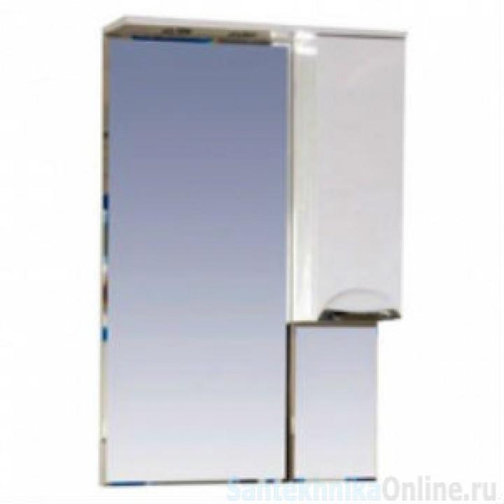 Зеркало-шкаф Misty Петра 75 R белый П-Пет04075-011СвП