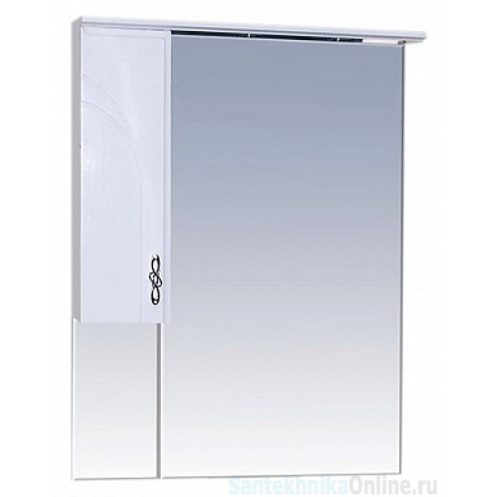 Зеркало-шкаф Misty Сицилия 65 L П-Сиц04065-011СвЛ