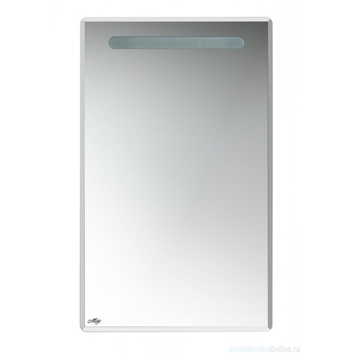 Зеркало-шкаф Misty Ирис 50 R П-Ири04050-01СвП
