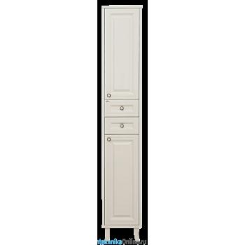 Шкаф-пенал Misty Шармель 35 R с 2-мя ящиками светло-бежевый Л-Шрм05035-5812ЯП