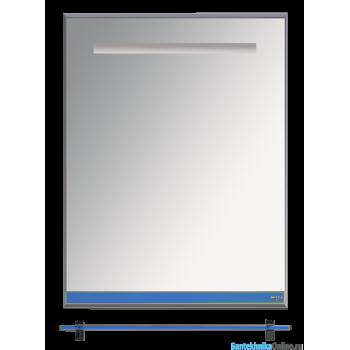 Зеркала Misty Джулия - 60 Зеркало с полочкой 12 мм синее Л-Джу03060-1110