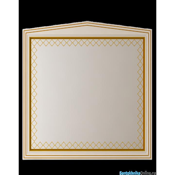Зеркала Misty Ницца 80 бежевое патина Л-Ниц02080-033