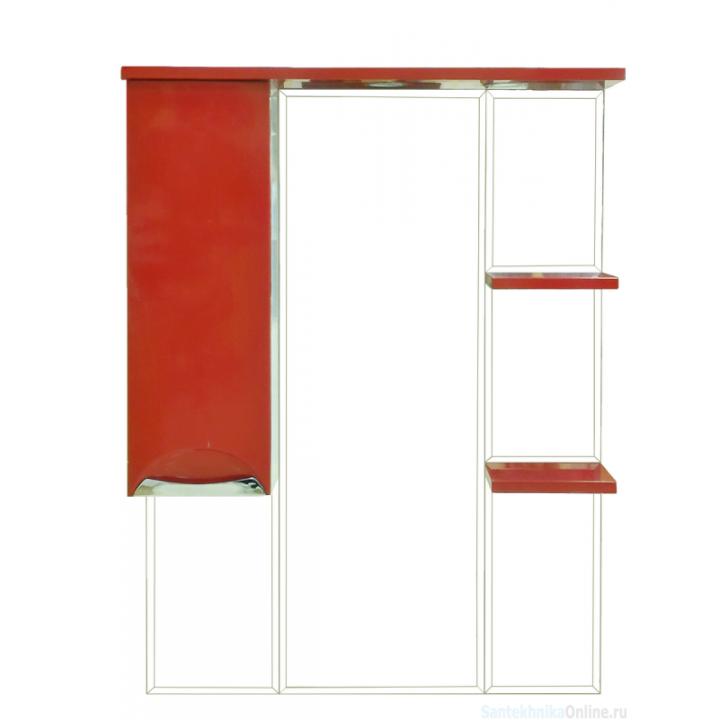 Зеркала Misty Жасмин 75 L красная пленка П-Жас02075-042СвЛ