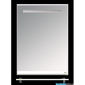 Зеркала Misty Джулия - 60 Зеркало с полочкой 12 мм белое Л-Джу03060-0110