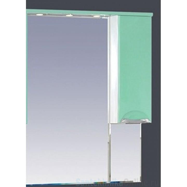Зеркало-шкаф Misty Жасмин 65 R салатовый П-Жас02065-071СвП