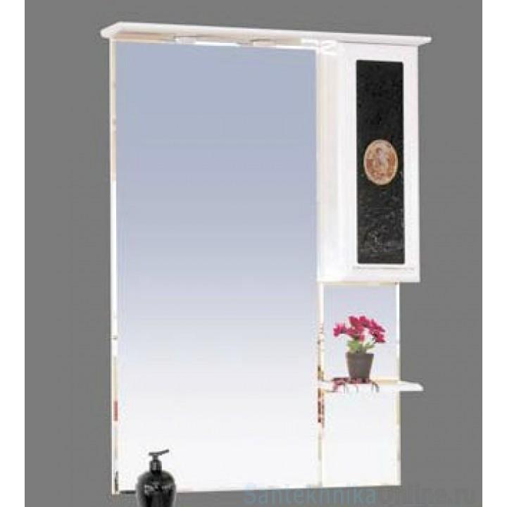 Зеркало-шкаф Misty Леонардо 75 R Л-Лео04075-235П