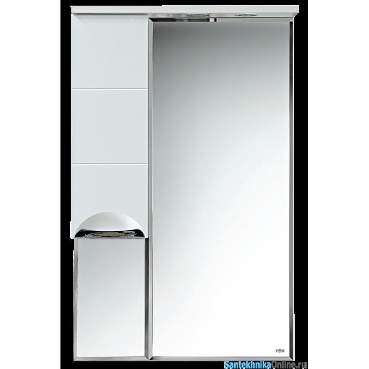 Зеркало-шкаф Misty Селена - 60 Зеркало - шкаф лев. П-Сел02060-01Л